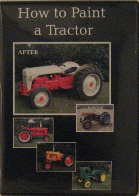 JDV02250 How to Paint a Tractor JDV-02250